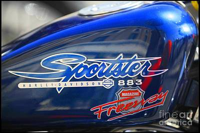 883 Photograph - Sportster 883 by Stefano Senise