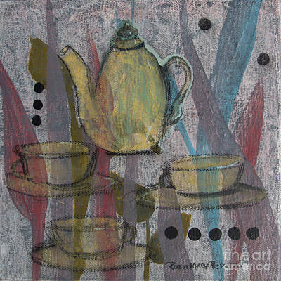 Painting - Spot Of Tea by Robin Maria Pedrero
