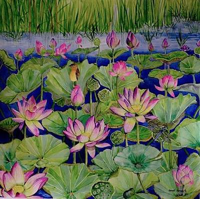 Painting - Spot The Dragonfly by Sonali Sengupta