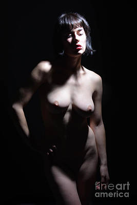 Unclothed Digital Art - Spotlight On Beauty by Revel Photo