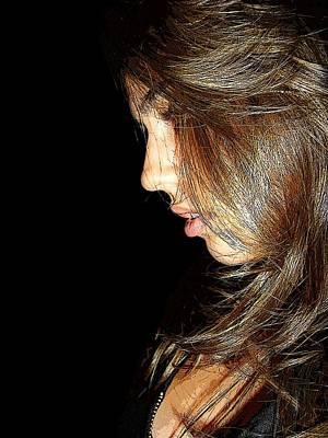 Woman Photograph - Spotlight by Zinvolle Art