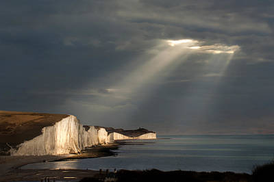 Silver Turquoise Photograph - Spotlights On The Sisters by Adrian Campfield