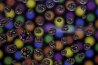 Spots And Circles Art Print by Mark Stewart