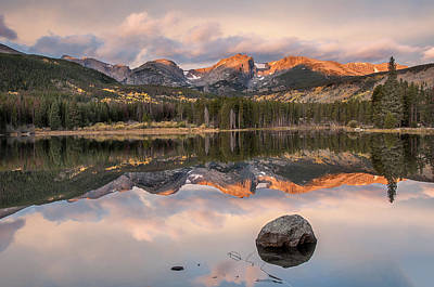 Photograph - Sprague Lake Sunrise 2 by Lee Kirchhevel