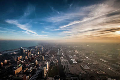 Ken Ilio Photograph - Sprawling City Looking South by By Ken Ilio