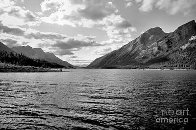 Spray Lake Art Print