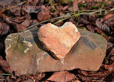 Photograph - Spread Love by Deena Stoddard