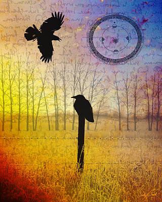 Judy Wood Digital Art - Spread The Word by Judy Wood