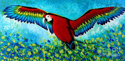 Painting - Spread Your Wings by Preethi Mathialagan