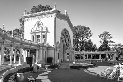Photograph - Spreckels Organ Pavilion At Balboa Park by Priya Ghose