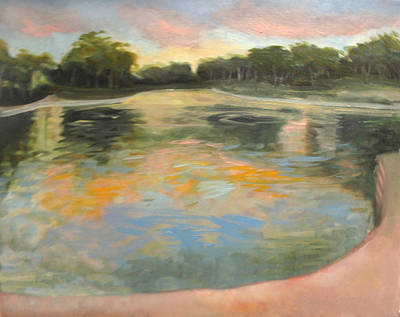 Painting - Spreckles Lake by Suzanne Giuriati-Cerny