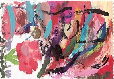 Susan Jones Painting - Spring 2000 - 2 by Susan Jones