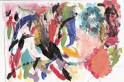 Susan Jones Painting - Spring 2000 1 by Susan Jones