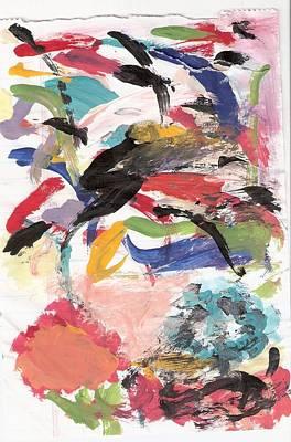 Susan Jones Painting - Spring 2000 - Two by Susan Jones
