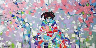 Painting - Spring by Anastasija Kraineva