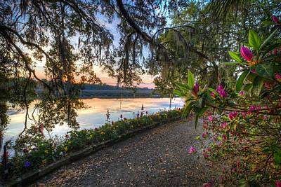Photograph - Spring At Magnolia Plantation 6 by Walt  Baker