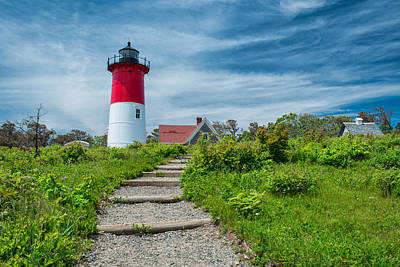 Spring At Nauset Light Art Print