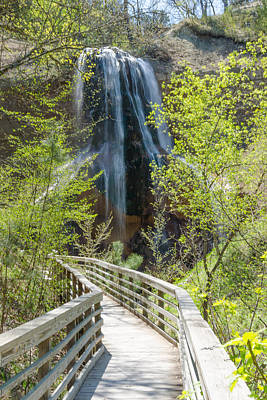 Photograph - Spring At Smith Falls by Dakota Light Photography By Dakota