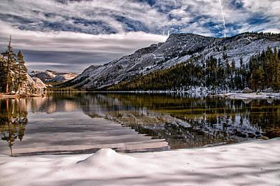 Photograph - Snowy Lake Tenaya by Cat Connor