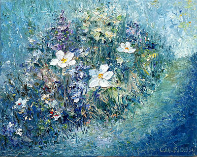 Pallet Knife Painting - Spring Awakening by Gail Fields
