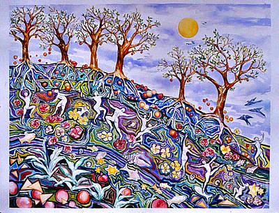 Painting - Spring Awakening by Nancy Wait