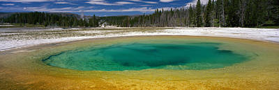 Spring, Beauty Pool, Yellowstone Art Print by Panoramic Images