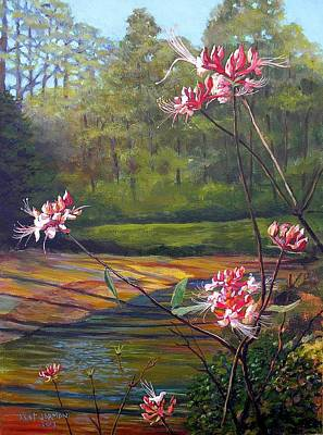 Spring Blooms On The Natchez Trace Art Print by Jeanette Jarmon