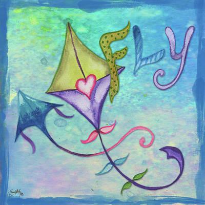 Kite Digital Art - Spring Blossom Iv by Elizabeth Medley