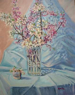 Painting - Spring Blossoms by Bonita Waitl