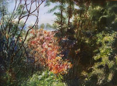 Painting - Spring Blossoms by Marilyn McMeen Brown