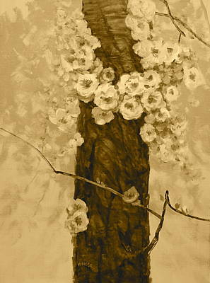 Painting - Spring Blossoms by Richard Hinger