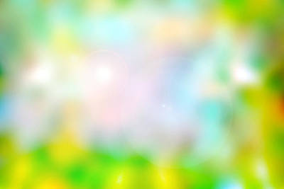 Digital Art - Spring Blur 2 by Steve Ball
