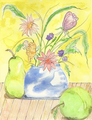 Painting - Spring Bouquet by Bertie Edwards