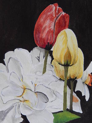 Painting - Spring Bouquet by Betty-Anne McDonald