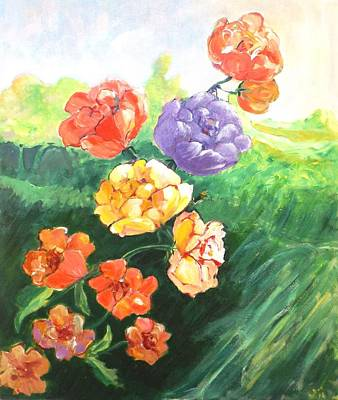 Painting - Spring Bouquet by Gloria Dietz-Kiebron