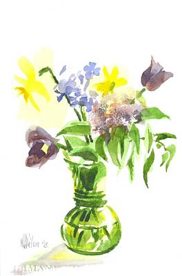 Painting - Spring Bouquet IIi by Kip DeVore