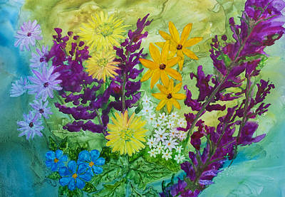 Painting - Spring Bouquet by Patricia Beebe