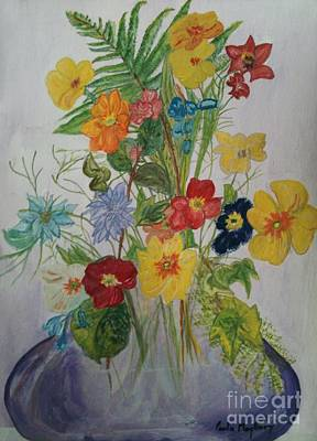 Painting - Spring Bouquet by Paula Maybery