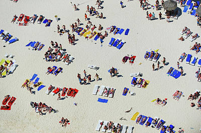 Break Of Day Photograph - Spring Breakers On The Beach by Tommy Clarke