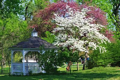 Photograph - Spring Bridgeton Park Missouri by John Lautermilch