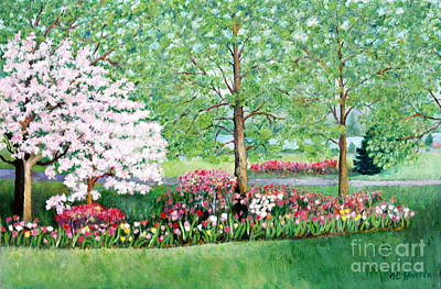 Painting - Spring Burst by Al Hunter