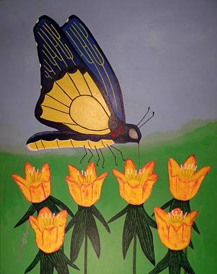 Contest Winner Mixed Media - Spring Butterfly by Robert Provencial