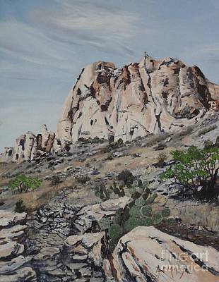 Oil Painting - Spring Canyon - Summit Trail by Jodi Murphy