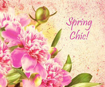 Spring Chic Art Print by Georgiana Romanovna