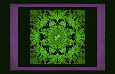 Spring Chorus Mandala Art Print by I'ina Van Lawick