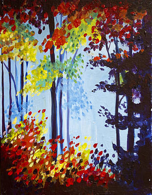 Painting - Spring Colors  by Richard Fritz