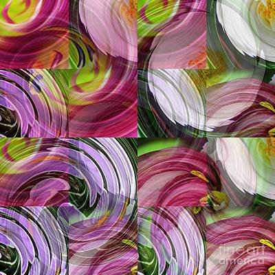 Floral Digital Art Digital Art - Spring Colors by Sarah Loft