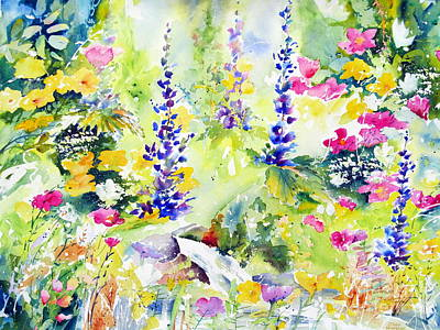 Painting - Spring Colour by John Nussbaum