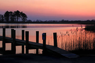 Photograph - Spring Cove Sunset by Carolyn Derstine