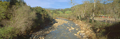 Ojai Wall Art - Photograph - Spring Creek In Upper Ojai, California by Panoramic Images